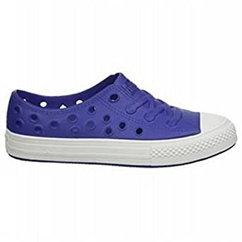 Converse All Star Rockaway Shoes - Radio Blue / White - UK 4.5