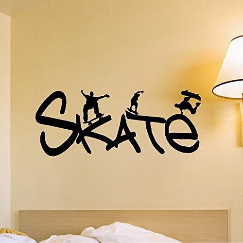 JJHR Pegatinas pared Skate Cotizaciones De Deporte