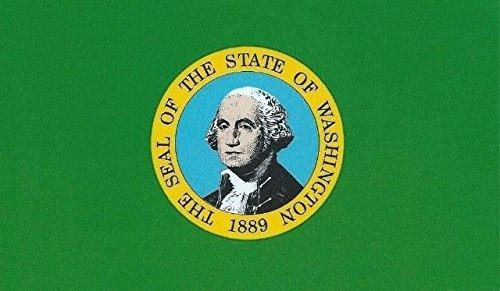 Washington State Handy (12,7x 7,6cm Washington State Flagge Bumper Magnet Magnet Auto Magnete von stickertalk®)