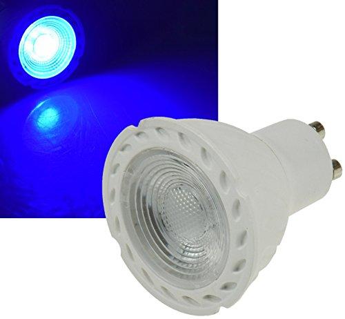 LED Strahler für Deko Leuchten GU10 Sockel 5Watt I verschiedene Farben (Blau)
