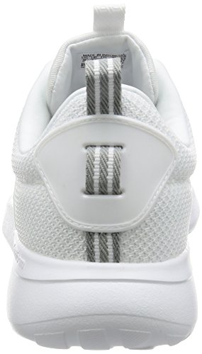 adidas Cloudfoam Lite Racer, Chaussures de Tennis Homme Weiß (White/Clear Onix)
