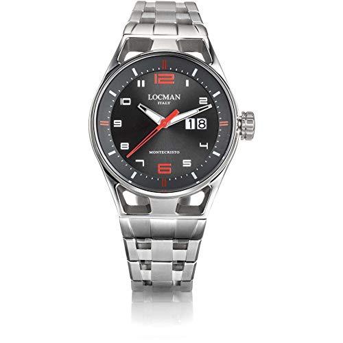 Reloj Solo Tiempo Hombre Locman Montecristo Casual cód. 0546A07S-00GYRDB0