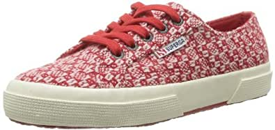 Superga Women's 2750 Fantasyw 18 Trainers Red Rouge (Red/Pink) 3