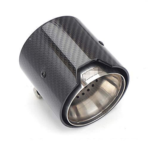 AniFM Carbon Top Qualität Auspuff 71 MM IN 93 MM Out Auto Auspuffrohre für BMW M M2 F87 M3 F80 M4 F82 F83 M5 F10 Modifiziertes Zubehör,4Pcs
