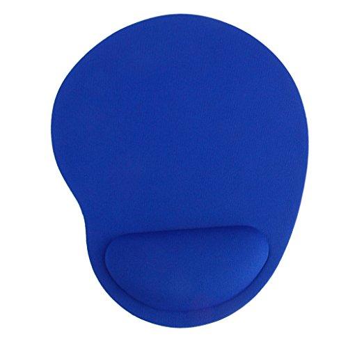 Gazechimp Azul Cojín de Esterilla Almohadilla de Ratón de Resto - Azul