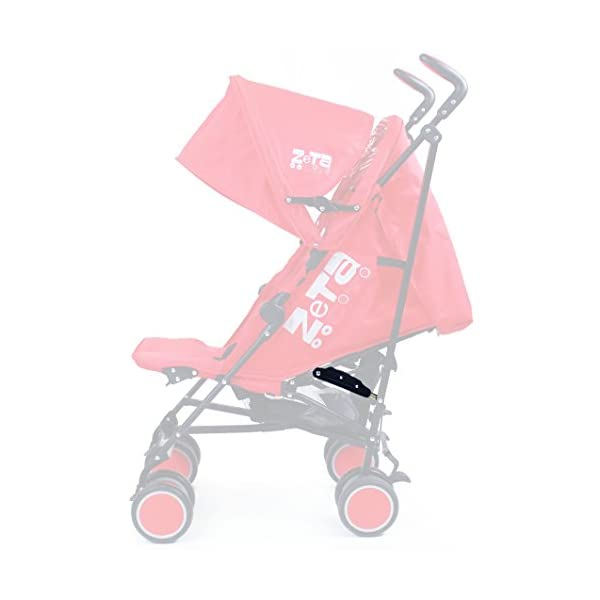 Zeta Citi Stroller Buggy Pushchair - Plum ZETA 12 Month FREE Warranty When Purchased and used from birth only. Warranty VOID If Purchased And Used For Babys Over 12 Months Lightweight stroller suitable for babies from Birth Umbrella fold for a compact folded size 7