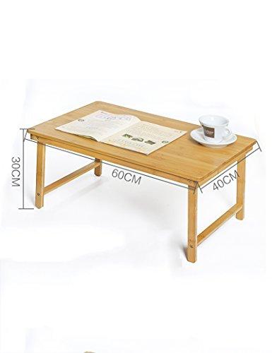 Bambus Faltbar Laptop-Tische Einfach Bett mit Kleiner Tisch Schlafsaal Schreibtisch