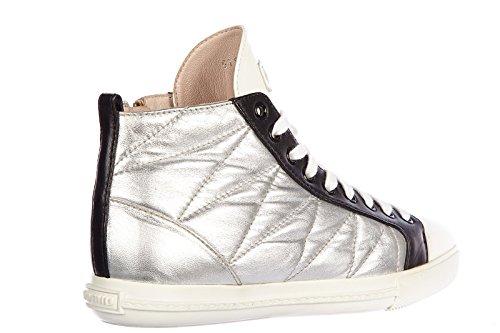 Chaussures pt731 Miu Miu Donna argent Argent