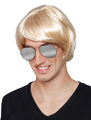 Deiters Perücke Musik-Star blond