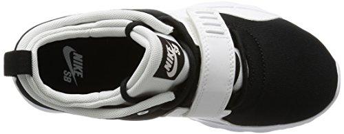Nike Trainerendor, Chaussures de Tennis Homme Blanc (black/white)