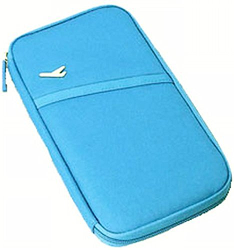 exoh Durable Wasserdichte Reise Dokumententasche (blau)