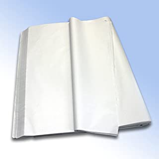 1 Ream (480 Sheets) of White High Quality Pure MG Tissue Paper (Acid Free) 500mm x 750mm 20x30