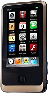 MPman TS 350 Baladeur numérique Mémoire Interne MP3 Ecran Tactile