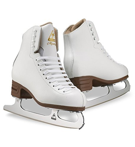 (Toddler 8, White) - Jackson Ultima JS1490 JS1491 JS1494 Mystique Series / Women and Girls Figure Ice Skates