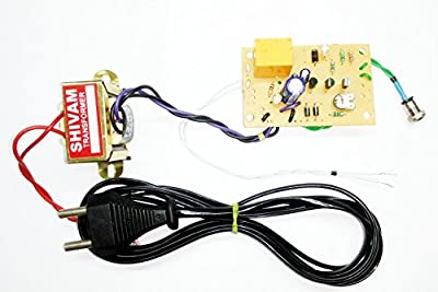 pke Light Laser Switch - LDR Circuit project with Complete Power Supply