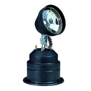 Eurolite TP-36 Schwenkpunktstrahler | Schwenkpunktstrahler für 6 V/30 W PAR-36 Lampe | Retro Lichteffekt Scheinwerfer
