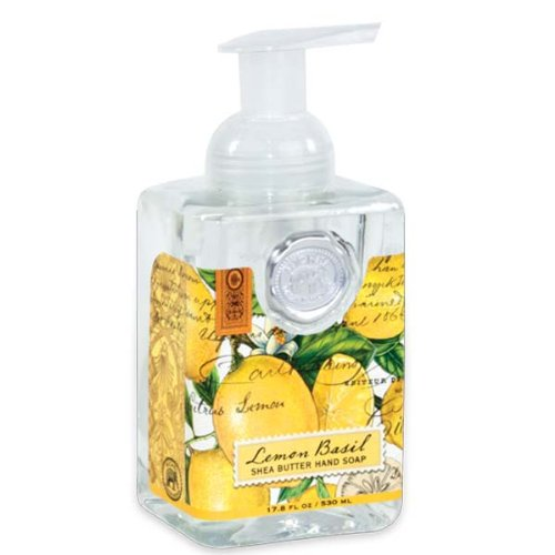 Michel Design Works Foaming Hand Soap, 17.80-Fluid Ounce, Lemon Basil