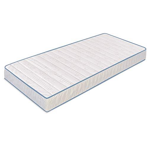 Baldiflex materasso una piazza e mezza easy basic m, h 15 cm in poliuretano espanso waterfoam, ortopedico, antiacaro, misura 120x190 cm