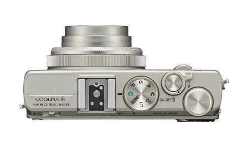 Bild 2: Nikon Coolpix A Digitalkamera (16 Megapixel, 7,6 cm (3 Zoll) LCD-Display, 28mm Weitwinkelobjektiv, Lichtstärke 1:2,8, Full HD Video) titan silber