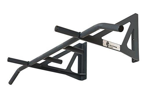 Hold Strong Fitness Klimmzugstange für die Wand Sonderanfertigung für die Montage über dem Türrahmen oder in tiefen Räumen (10 Jahre Herstellergarantie) - HS-KU-W6
