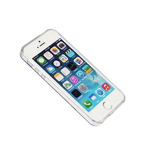 Pour Apple iPhone 5 5G 5S / iPhone SE (4 Pouces) Coque ZeWoo® Étui en Silicone TPU Housse Protecteur - AK012 / London Building AK013 / La Maison Rouge