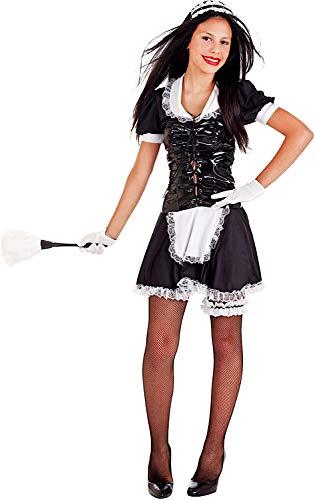 Veneziano Carnevale Venizano CAV69008-12 - Teenagerkostüm CAMERIERA - Alter: 12-16 Jahre - Größe: 12 (Cameriera Kostüm)
