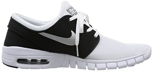 Nike Sweat-shirt NSW Heritage pour homme Gris Blanc/métallique Argenté/noir