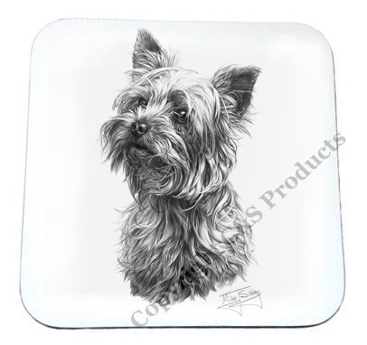 Mike Sibley Yorkshire terrier Dog (Yorkshire Terrier Coaster)