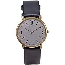 Stahl SWISS MADE Wrist Watch Model: ST61309 - Stainless Steel - Small 27mm Case - Arabic and Bar Grey Dial