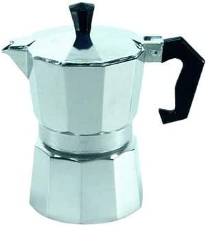 KRÜGER Alu Espressokocher 9 Tassen ***NEU*** Silber Espresso-Kocher