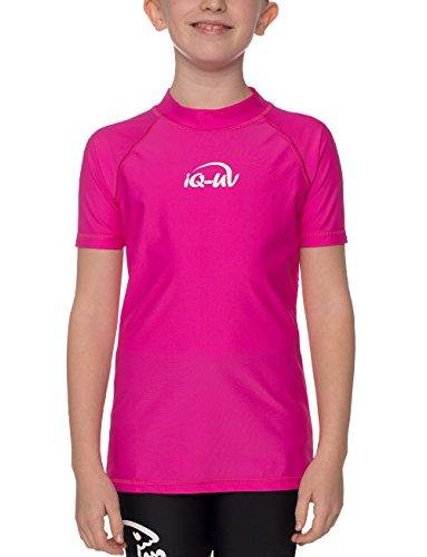 iQ-UV Mädchen 300 Kinder Schutz T-Shirt Uv-Shirts, Pink, 152/158