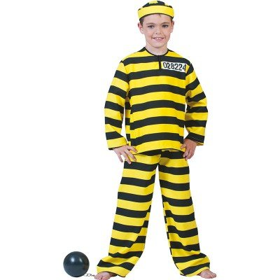 Fiesta Palace Déguisement Prisonnier Dalton Enfant\ et ses \enfants\ de marque \Funny\ - 9-10 ans