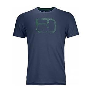 Ortovox Herren 185 Logo T-Shirt
