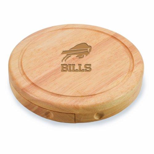 Picnic Time NFL Buffalo Rechnungen Brie Käsebrett/Werkzeug Set, 7-1/5,1cm
