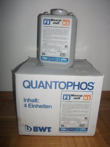 Preisvergleich Produktbild BWT Mineralstoff Cillit -Quantophos/Impulsan 4 x 3 l Kanister F3/H3