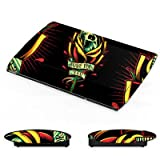 DeinDesign Sony Playstation 3 Superslim CECH-4000 Folie Skin Sticker aus Vinyl-Folie Aufkleber Tattoo Skull Gothic Blume