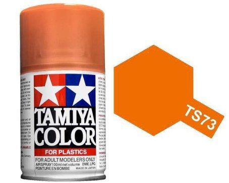 Tamiya 85073. Spray TS-73. Pintura esmalte color Naranja Traslucido