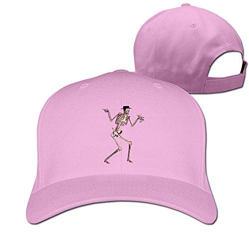 thna-squelette-humain-reglable-fashion-casquette-de-baseball-rose-taille-unique