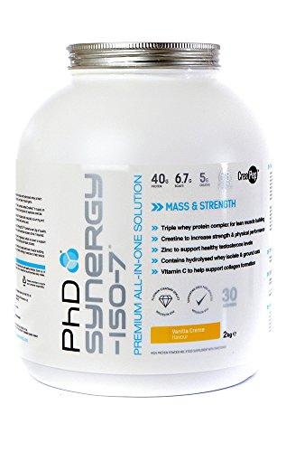 PhD Nutrition Synergy ISO-7 Powder, Vanilla Crème, 2 kg