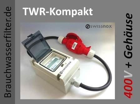 Original Swissnox 16a Box, Der digitale Drehstromzähler im Schutz Gehäuse auf Hutschiene. Das mobile Energiemessgerät für Drehstrom. Ein Stromzähler für viele Anwendungen. Made in Germany.