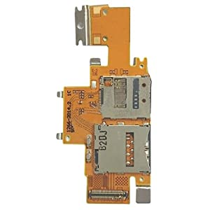 Sim Card and SD Card Reader Contact Kabel Flex für Sony Xperia Tablet Z/SGP311/SGP312/SGP321