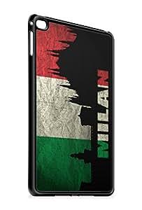 Ipad 6 / iPad Air 2 Italien Milan SILIKON Flipcase Tasche Hülle Case Cover Schutz Handy