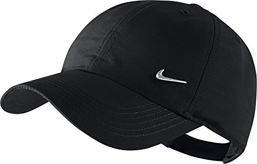 Nike Ya Heritage 86 Swoosh AD - Unisex tennis cap for youth, black / silver