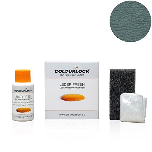 Preisvergleich Produktbild COLOURLOCK® Leder Fresh Tönung Mini 30 ml F-Standard-Farbe F037 grau (Lederfarbe,  Farbauffrischung),  beseitigt Schrammen,  Ausbleichungen und Abnutzung an Leder und Kunstleder