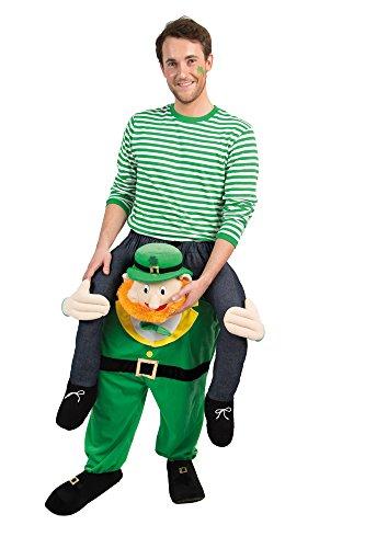 cks Day CARRY ME Huckepack trag mich Kostüm Einheitsgröße (Gnom Kostüm)