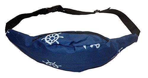 Gürteltasche Bauchtasche Beutel Tasche Etui Maritim Blau