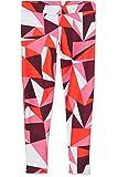RED WAGON Mädchen Sport Leggings mit geometrischem Muster, Rot (Abstract Print Red), 128 (Herstellergröße: 8 Jahre)