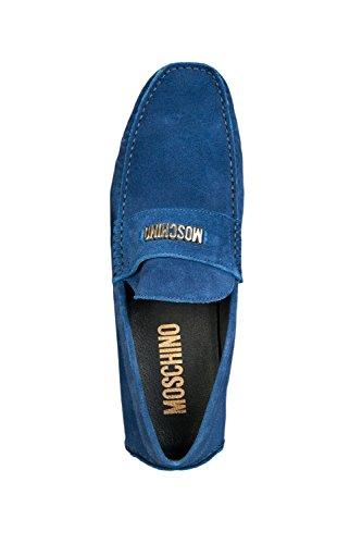 Moschino , Mocassins pour homme bleu bleu 41.5 Bleu