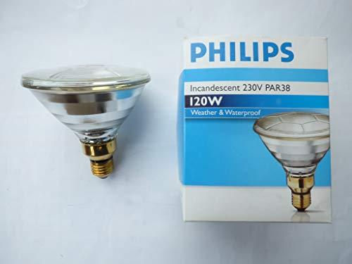 Philips Reflektorlampe PAR38, E27, 120W, 12°, klar, für Flos-Licht