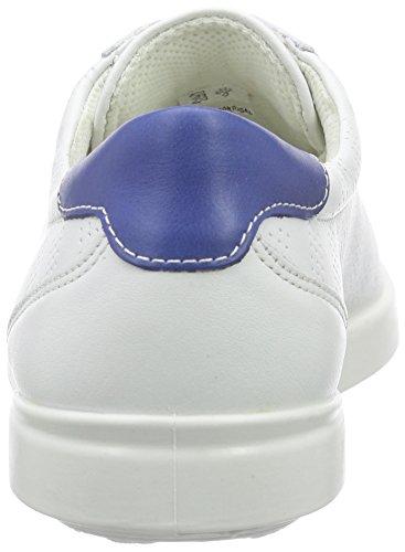 Ecco AIMEE Damen Sneakers Weiß (WHITE/MAZARINEBLUE 57208)